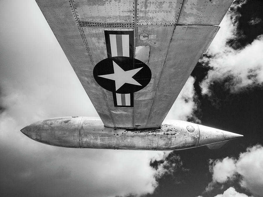 Vintage Aircraft Wing by Keith Dotson