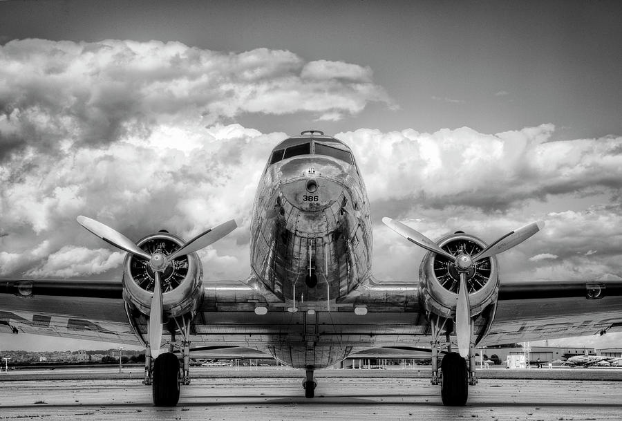 Vintage Airplane Photograph by Nick Vedros