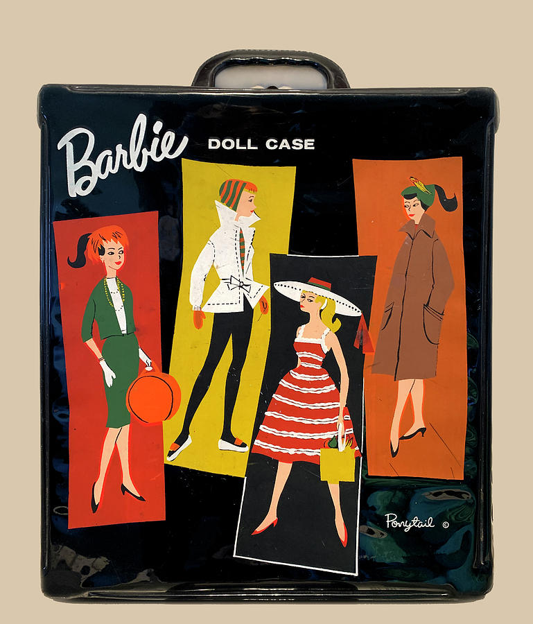 Vintage Barbie Doll Case Photograph By Marilyn Hunt