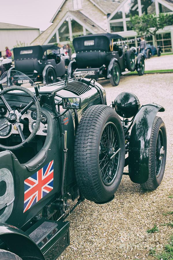 Vintage Photograph - Vintage Bentley Motor Car by Tim Gainey