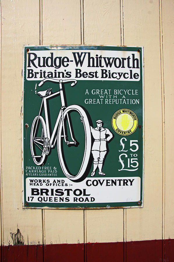 Vintage Bicycle Advertisment by Lachlan Main