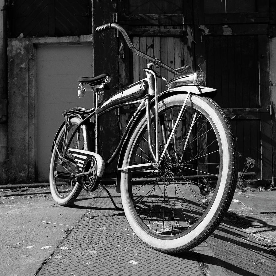 Vintage Bicycle Photograph by Image © Glen Pennykid