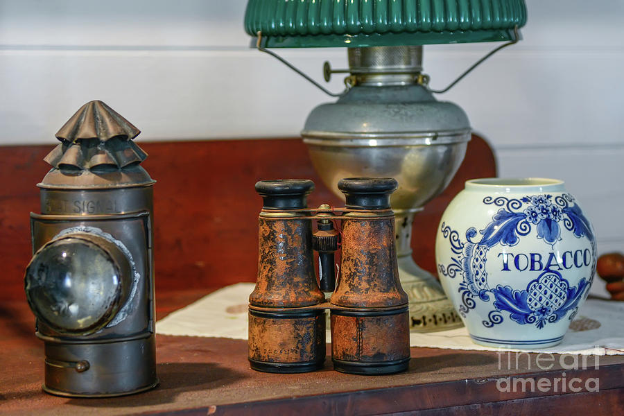 Vintage Binocular by Olga Hamilton