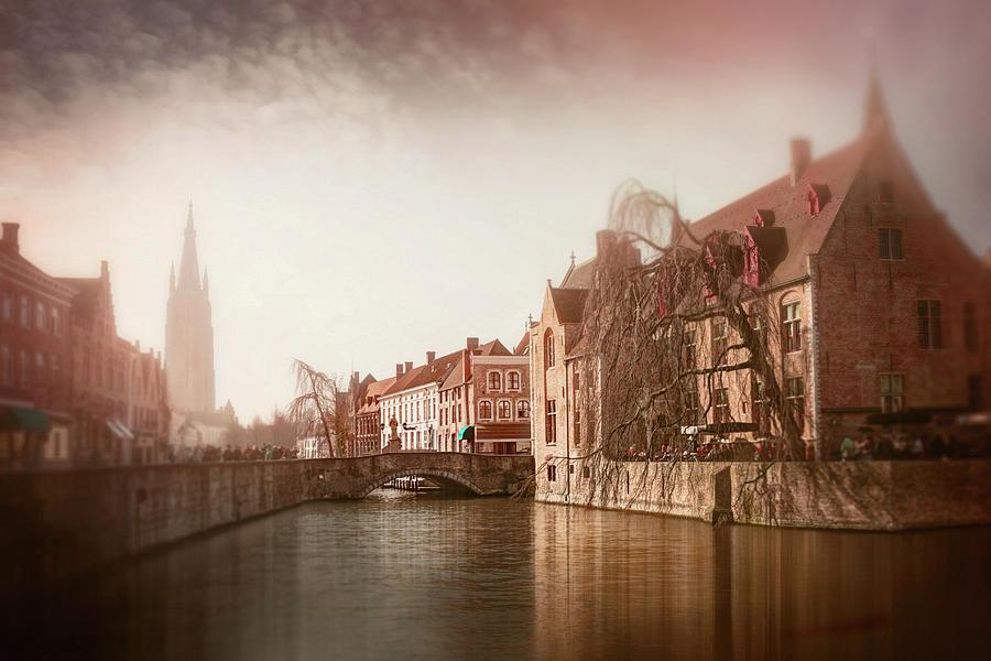 Vintage Bruges Belgium Photograph