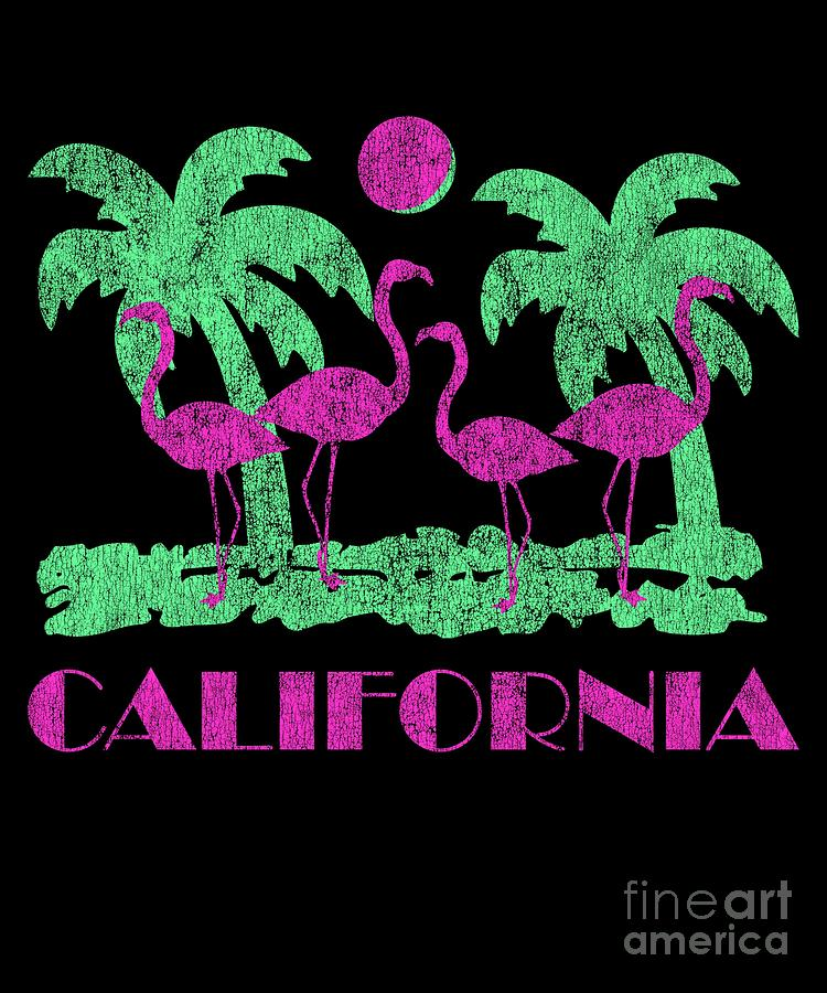 Vintage California Pink Flamingos by Flippin Sweet Gear
