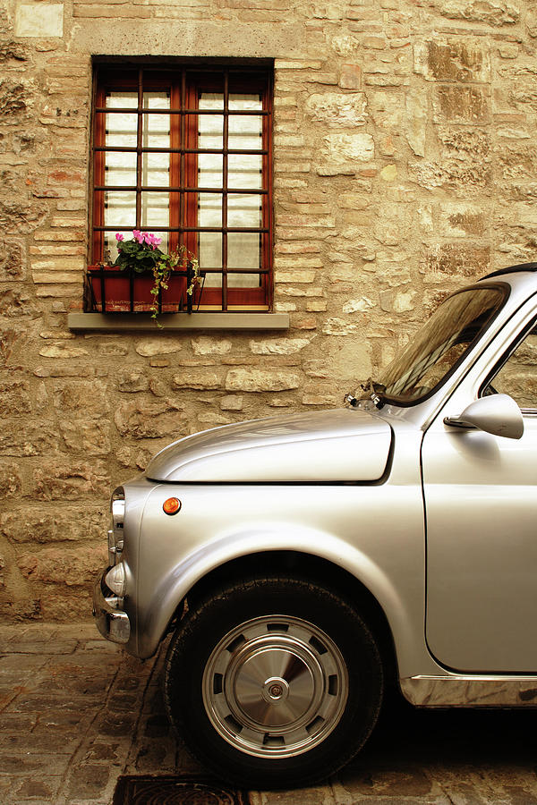 Vintage Car Photograph by Anzeletti