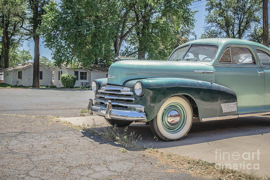 Car Photograph - Vintage Car Chevy Fleetmaster by Edward Fielding