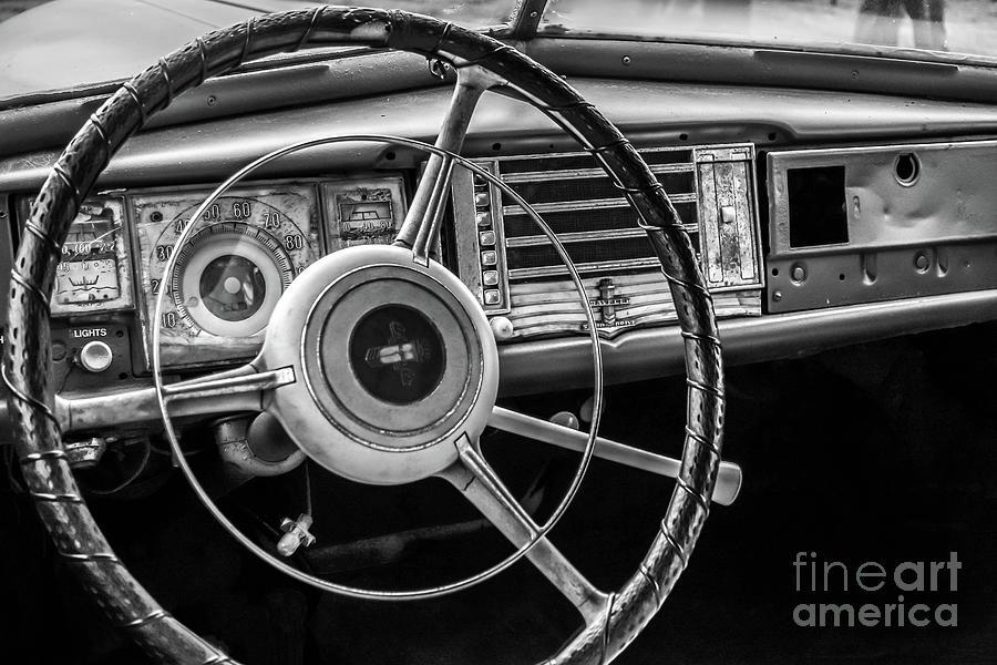 Vintage Car Dashboard by Edward Fielding