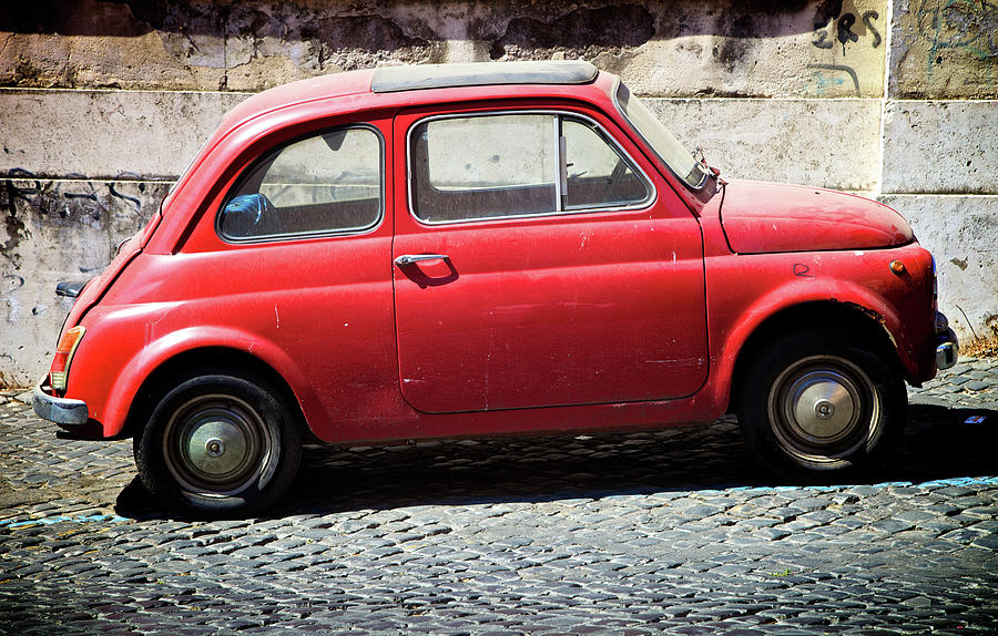 Vintage Car Photograph by Massimo Merlini