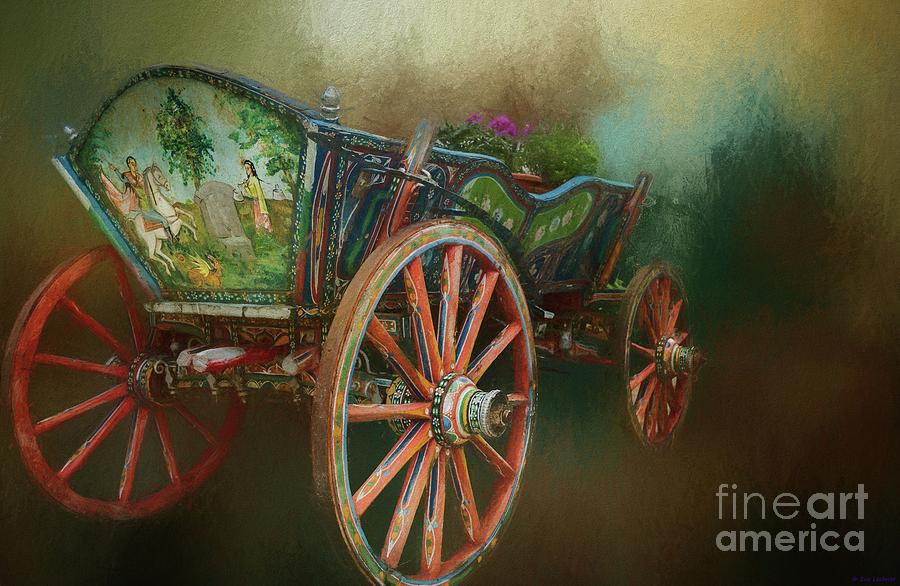 Vintage Carriage by Eva Lechner