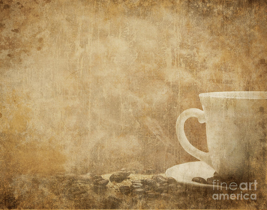 Vintage Coffee Background by Jelena Jovanovic