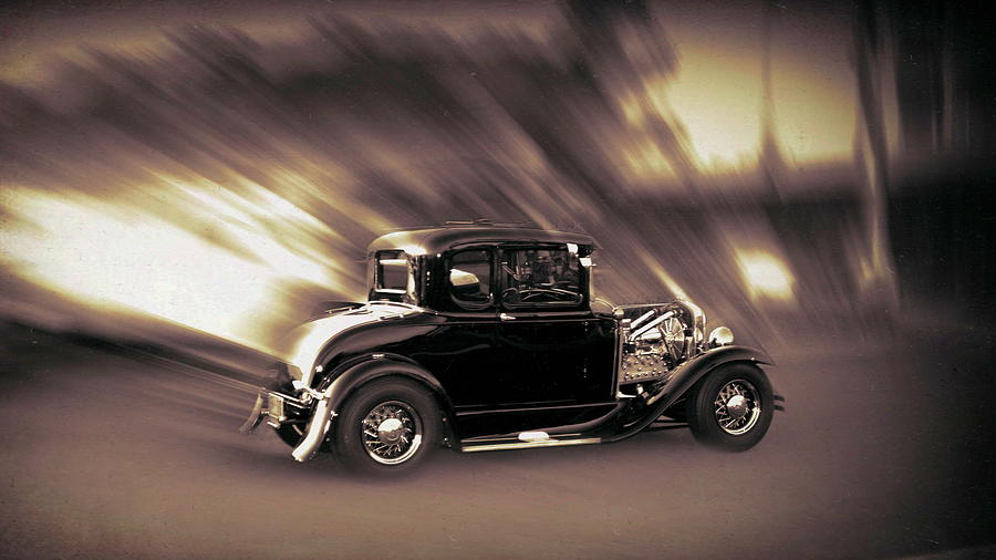 Vintage Coupe  by Cathy Anderson