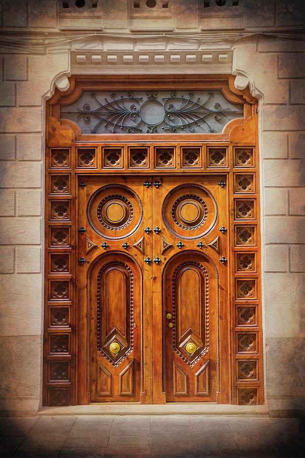 Vintage doors of old valencia spain photograph by carol japp - Vintage valencia ...