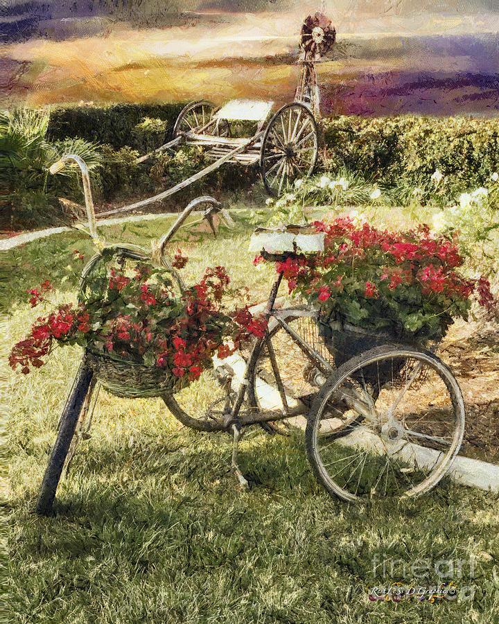 Vintage Farm by Rhonda Strickland