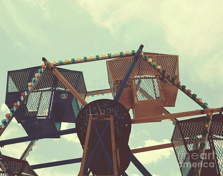 Vintage Ferris Wheel Fun Photograph
