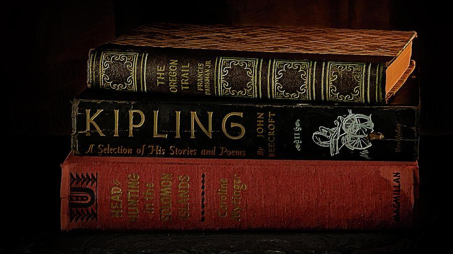 Vintage hardbound books by Alessandra RC