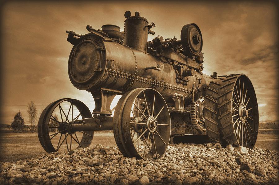 Vintage Iron Steamer by Michael Morse