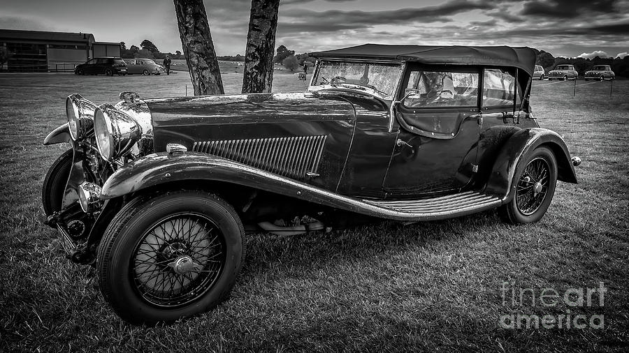 Vintage Lagonda by Adrian Evans