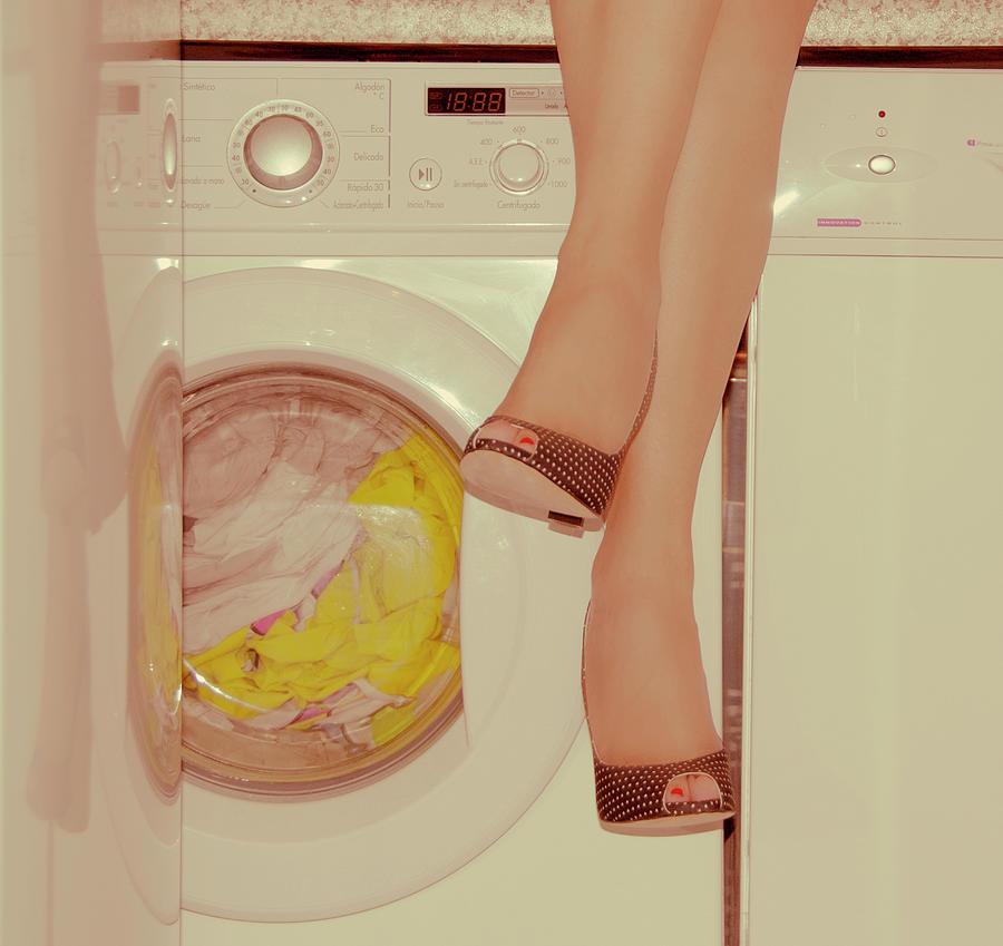 Vintage Laundry Photograph by © Angie Ravelo Photography