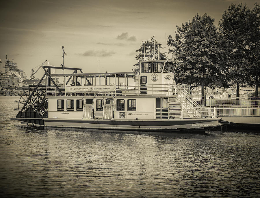 Vintage Look Ferry by Jerry Gammon