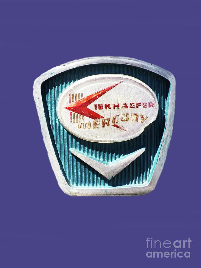Vintage Mercury Kiekhaefer Logo 300 Mixed Media
