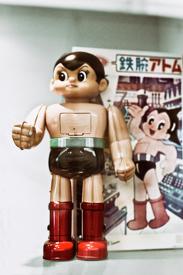 Robot Photograph - Vintage Robot Astro Boy by Benjamin Dupont