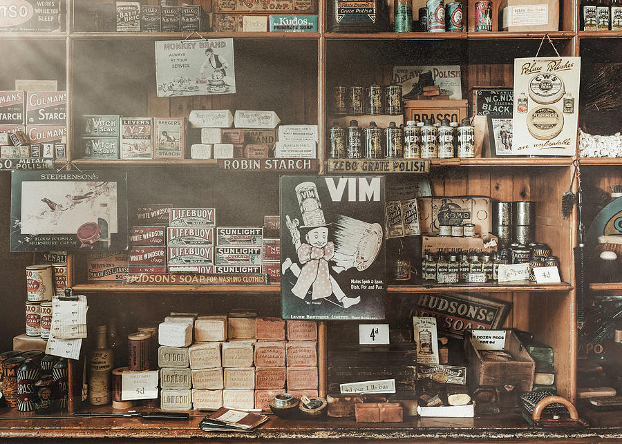 Vintage Soap Store by Dave Bowman