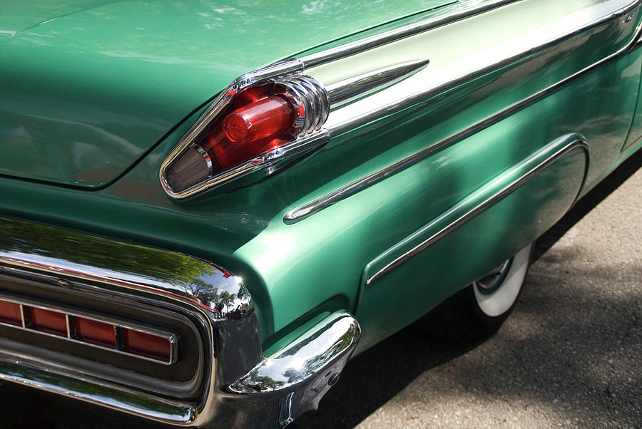 Vintage Tail Fin Photograph by Sstop