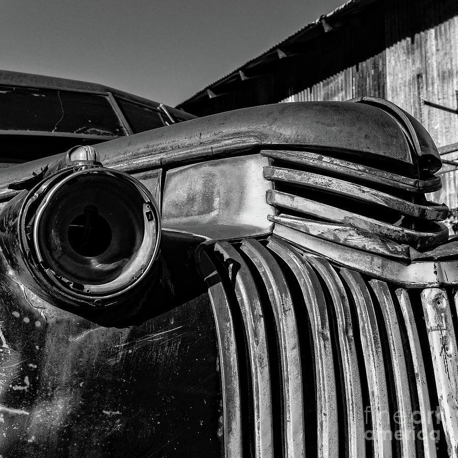 Car Photograph - Vintage Truck Jerome Arizona by Edward Fielding