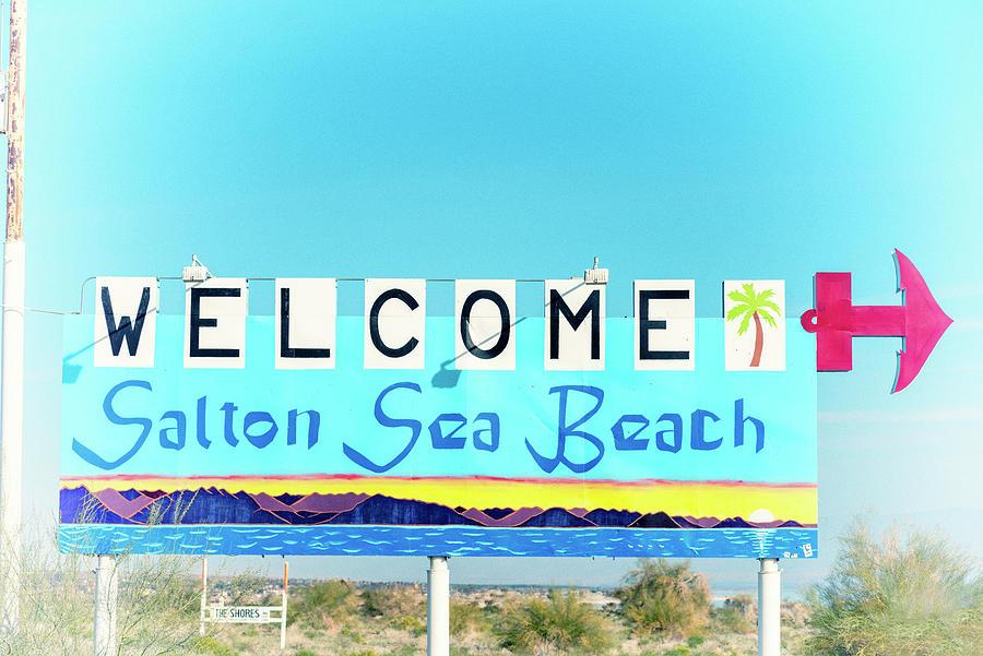 Vintage Vibes From Salton Sea Beach #1 by Joseph S Giacalone