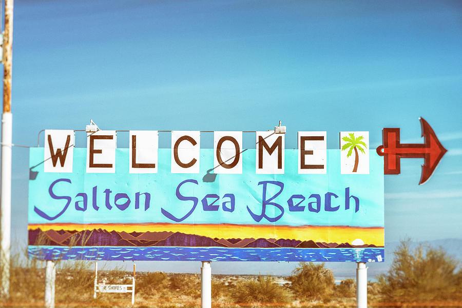 Vintage Vibes From Salton Sea Beach #2 by Joseph S Giacalone