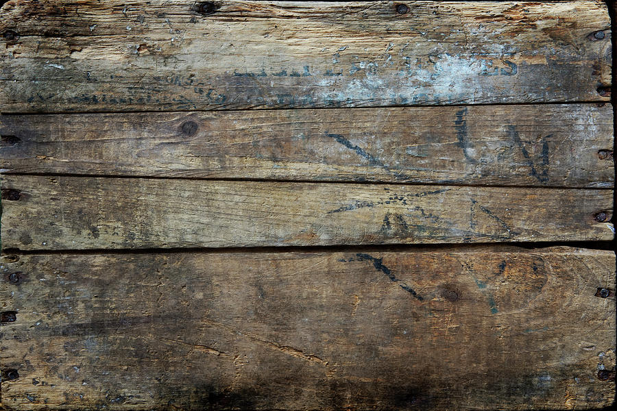 Vintage Wood Planks Photograph by Rdegrie