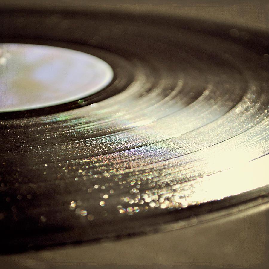 Vinyl Record Photograph by Photo - Lyn Randle