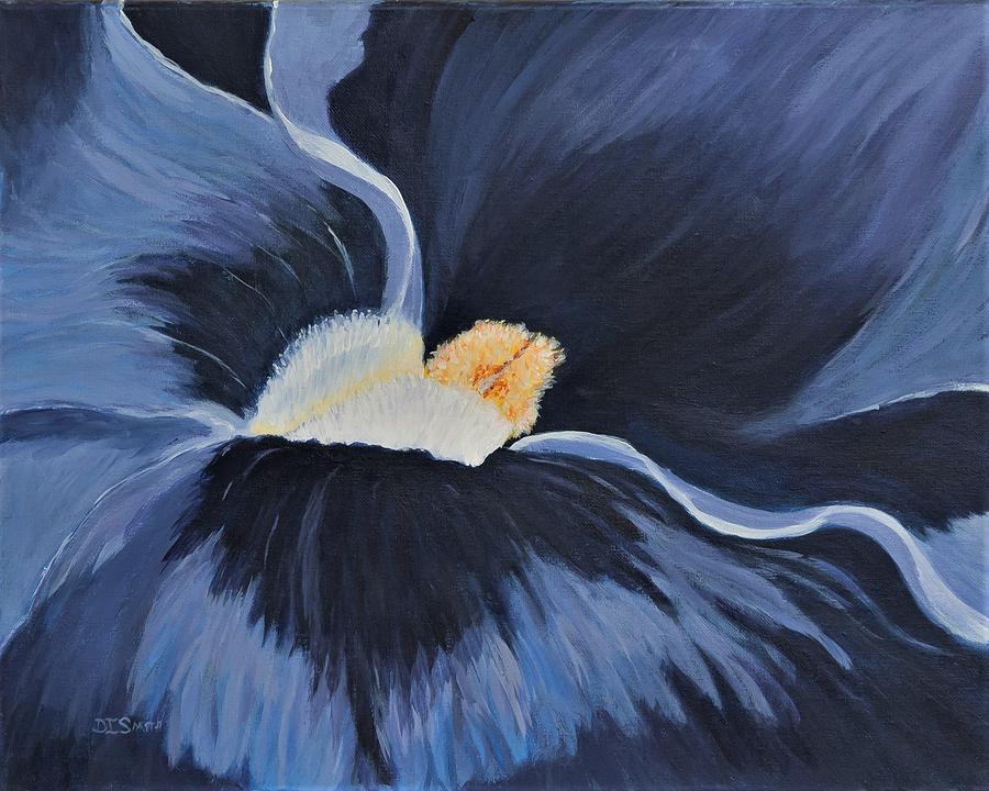 Painting Painting - Viola Deep Purple by Deborah Smith