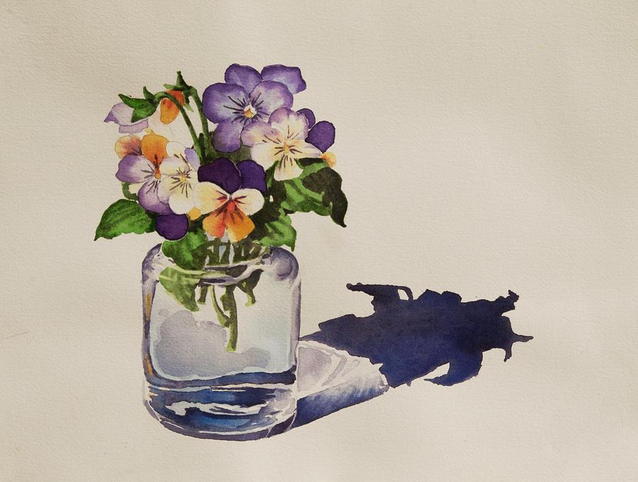 Violas by Heidi E Nelson