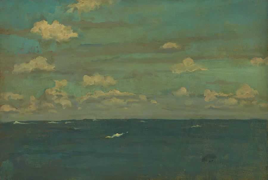 Violet and Silver - The Deep Sea by James Abbott McNeill Whistler