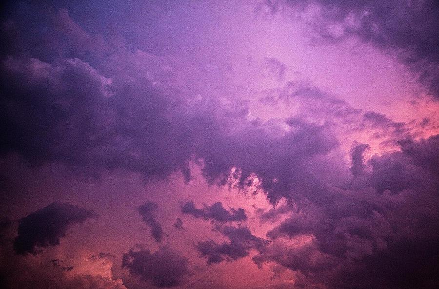 Violet Sky Photograph by Richard Newton / Daddynewt