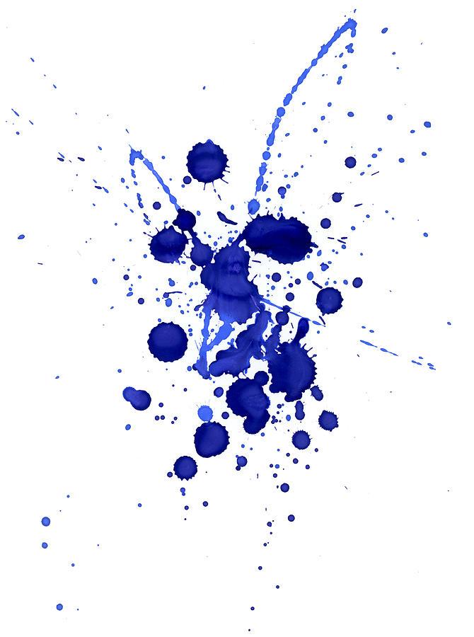 Violet Splashes Photograph by Alenchi