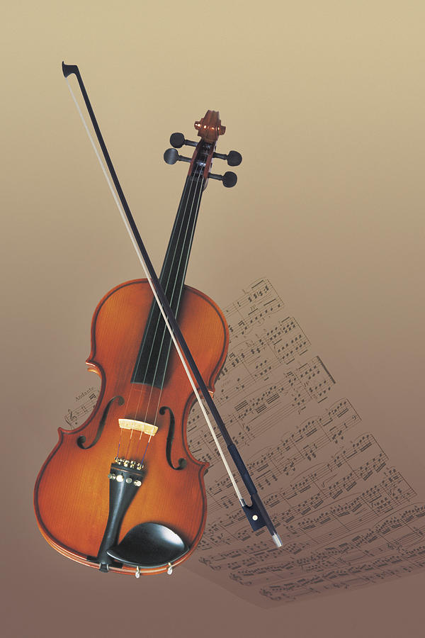 Violin Photograph by Comstock