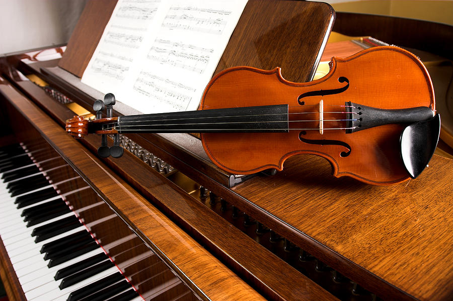 Violin Photograph by Tolimir