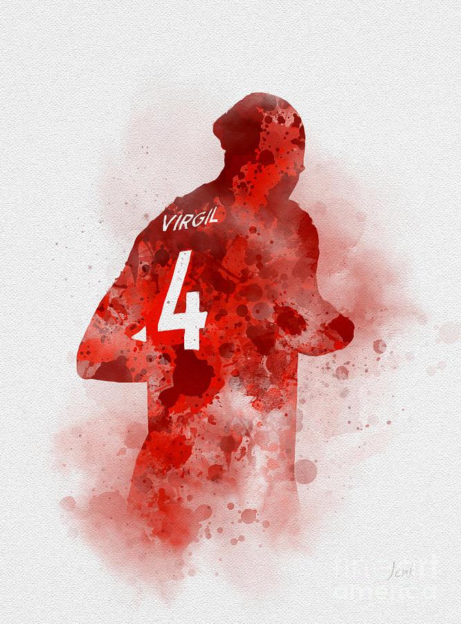 Virgil van Dijk by My Inspiration