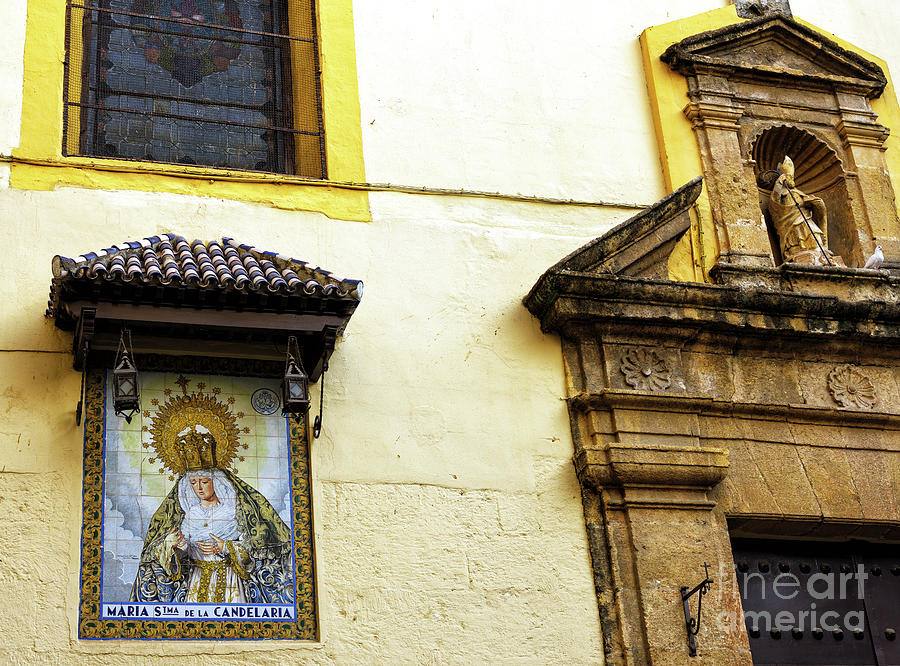 Virgin of the Candelaria in Seville by John Rizzuto