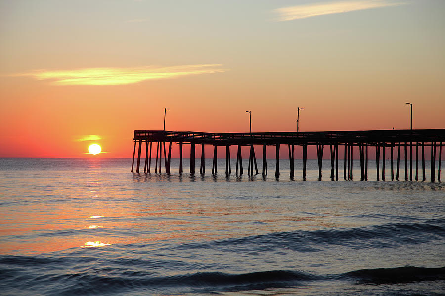Virginia Beach Fishing Pier Photograph by Denistangneyjr