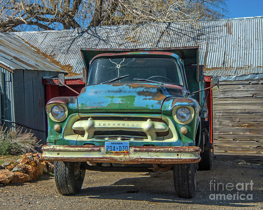 Virginia City Chevy by Stephen Whalen
