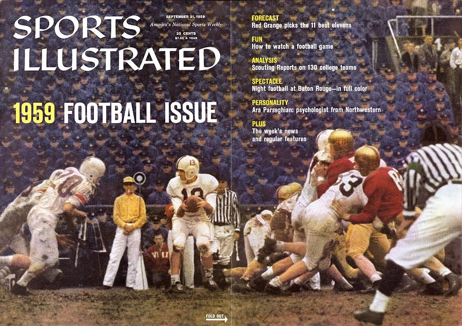 Virginia Tech Qb Billy Cranwell Sports Illustrated Cover Photograph by Sports Illustrated