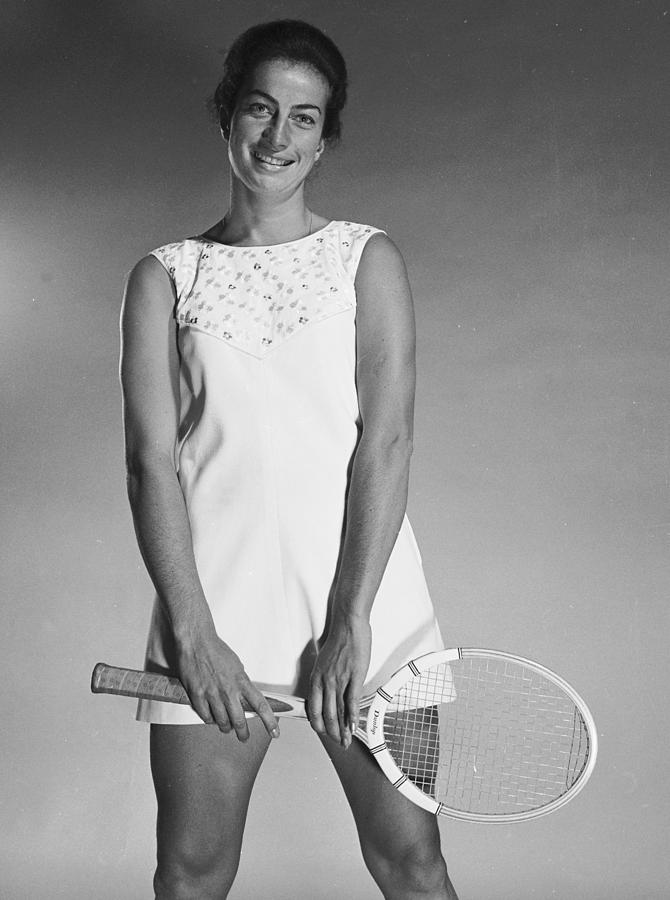 Virginia Wade Photograph by Chaloner Woods