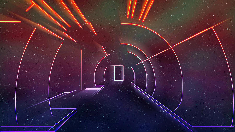 Virtual Galactic Gateway by Jason Fink