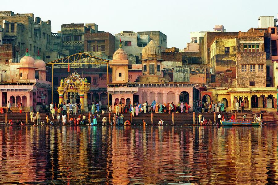 Vishram Ghat, Mathura Photograph by Himanshu Khagta