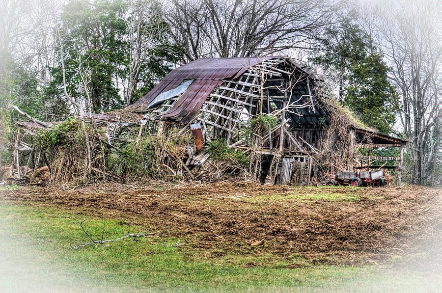 Vision of a Dilapidated Barn  by Douglas Barnett