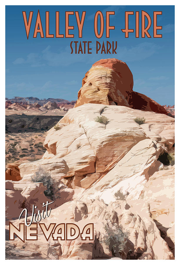 Visit Nevada's Valley of Fire  by Kristia Adams